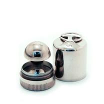 «МАТРЁШКА-брелок» d 40 мм (с подушкой) Оснастка круглая металлическая . OL-21 040 М