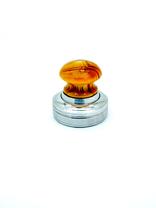 """К """"Сабина-кнопка"""" d42 мм. с подушкой. Металлическая оснастка для круглой печати."""